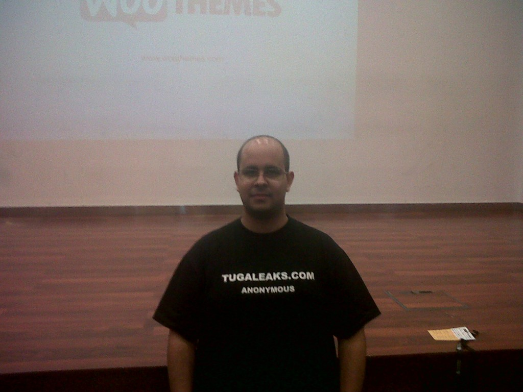 Rui Cruz no WordCamp